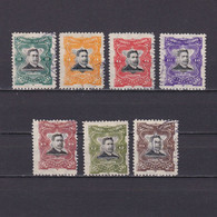 EL SALVADOR 1910, Sc #O293-O302, Part Set, Official Stamps, Used - Salvador