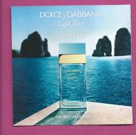 DOLCE & GABBANA * 5 X 5  CARD V/R - Modern (from 1961)