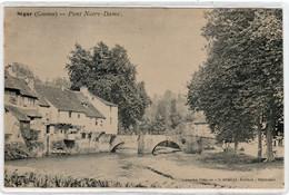CPA 19 : SEGUR - Pont Notre-Dame - Ed. O.Domège à Périgueux - Librairie Fènelon - Précurseur Dos Non Divisé Avant 1904 - Altri Comuni