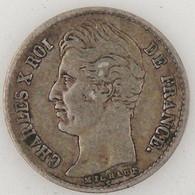 France, 1/4 Franc 1827 A, TB, KM#722.1 - F. 25 Centimes
