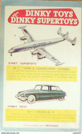 MECCANO Magazine-MARCOULE CARAVELLE CITROEN DS 19 BATEAU POMPE NORVIGIE-1956/39 - Advertising