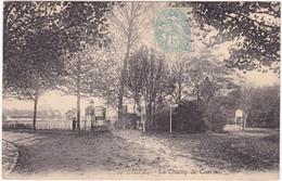 Nord : LILLE : Le Champ De Courses : Jeux - Cheval - Panneau Café Chavreuse  : Carte Rare - Lille
