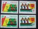 Rwanda Ruanda 1978 OCBn° 877-80 *** MNH Cote 2,25 Euro - 1970-79: Nuevos