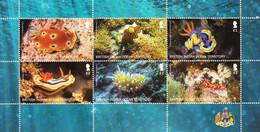 British Indian Ocean Territory 2021 Marine Life Minisheet MNH - Maritiem Leven