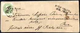 """Cover 1860, Lot Mit Drei Briefen, Alle Mit """"Franco"""" Stempel Bzw. Handschriftlich Vom Absender Vorausentwertet, Ein 10 +  - Sin Clasificación"""