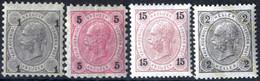 **/* 1890, 1 Kreuzer Grauschwarz Mit Extrem Verschobenen Wertziffern In BZ 10 Und 5 Kreuzer Rot Mit LZ 9¼, Beide Ungebra - Sin Clasificación
