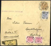 Cover 1900, 3 Heller Zeitungsschleife Als Rekomandiertes Muster Ohne Wert Der 2. Gewichtsstufe (bis 350 Gr.), Am 21.4.19 - Sin Clasificación