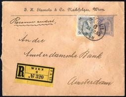 Cover 1903, Privatganzsachen, Partie Fünf Rekobelege Mit Zusatzfrankatur, Sehr Lohnend - Sin Clasificación