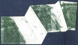 * 1913, 2 Heller Mit Gewöhnlichem Papier, Senkrechtes 1 1/2 Paar Ungezähnt Mit Großer Und Mittlerer Z-förmiger Quetschfa - Sin Clasificación