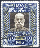O 1914, 10 Kronen, Gestempelt, ANK 177 / 450,- - Sin Clasificación