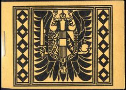 ** 1914, Kaiser Franz Joseph, Markenheftchen 1,50 K. Auf Gewöhnlichem Papier, Umschlag Aus Dunkelsämisch Gefärbtem Karto - Unclassified