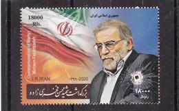 Iran 2021 Martyr Mohsen Fakhrizadeh       MNH - Iran