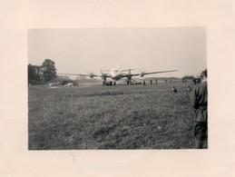 Guerre D'Algérie Photo Originale 8x11 Avion Militaire A Voir - Aviación