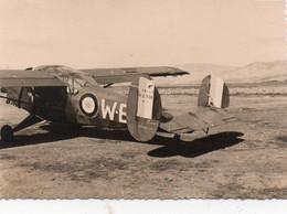Guerre D'Algérie Photo Originale 7x10 Avion Militaire A Voir - Aviation