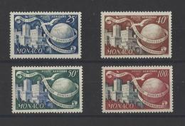 MONACO  YT  PA N° 45/48  Neuf **  1949 - Airmail