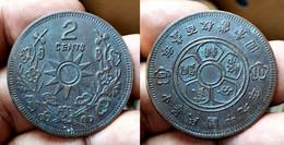 CHINA - SZECHUAN PROVINCE Y# 476 2 CENTS (CX#01-162) - China