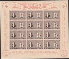 Suisse    .   Y&T  .   Bloc 8  (2 Scans)  (timbres: **)  .   *  .     Neuf Avec Gomme   .   /  .   Ungebraucht Mit Gummi - Bloques & Hojas