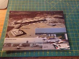 35480/1 AEROPORTI DI MILANO CON AEREI ATI E ALITALIA LINATE MALPENSA NORD MALPENSA 2000 - Aerodromes