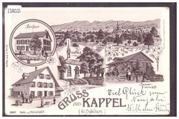 GRUSS AUS KAPPEL - LITHO -  TB - SO Solothurn