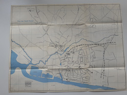 C4468/ Stadtplan Von Wedel Mit Werbeanzeigen  Ca.1960 - Folletos Turísticos