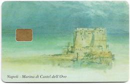 Italy - Napoli - Marina Di Castel Dell' Ovo, Chip Siemens S37, Incard Demo Card - Unclassified