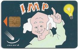 Italy - IMP, Old Man Cartoon, Incard Demo Card - Unclassified