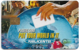 Italy - Publicenter Chip Promotional Card - Unclassified