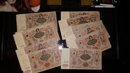 Lot De 22 South Russia 5000 Rubles 1919 - Rusland