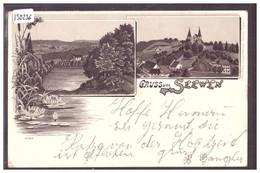 GRUSS AUS SEEWEN - LITHO - TB - SO Solothurn