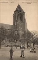 N°465 K -cpa Ouistreham -l'église Côté Sud- - Ouistreham