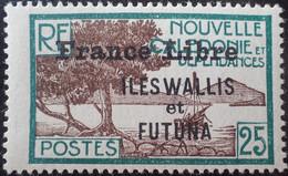 R2452/1655 - 1941 - COLONIES FR. - WALLIS Et FUTUNA - FRANCE LIBRE - N°100 NEUF* - Unused Stamps