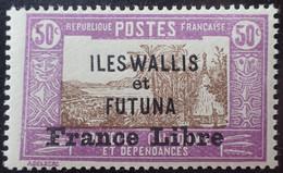R2452/1659 - 1941 - COLONIES FR. - WALLIS Et FUTUNA - FRANCE LIBRE - N°106 NEUF* - Unused Stamps