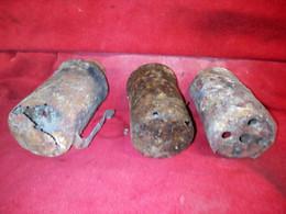 3 Pots Allemand Vide Inerte - Decorative Weapons
