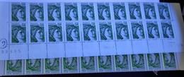 Bas De Feuille 1973 Numéro Comptable CD 19.9.78 TD6-7 Papier Azurant RE Repère électronique Gomme Brillante ** - 1970-1979