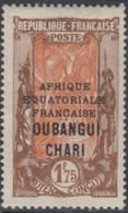 Oubangui-Chari - N° 82 (YT) N° 87 (AM) Neuf *. - Ungebraucht