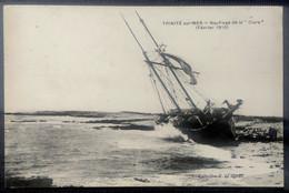 "TRINITÉ-sur-MER __Naufrage De La ""Clara""  (Février 1910) - La Trinite Sur Mer"