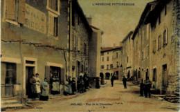 07*Ardèche* - Jaujac - Rue De La Chavade (colorisée) - Belle Animation - Altri Comuni
