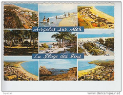 REF22.824 PYRENEES ORIENTALES. ARGELES-SUR-MER.EN 9 VUES.  LA PLAGE DES PINS. - Argeles Sur Mer