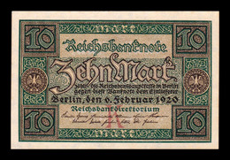 Alemania Germany 10 Mark 1920 Pick 67a SC- AUNC - 10 Mark