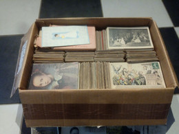 1lo - A450   GROS LOT Env. 9 Kg De FANTAISIE THEME - DROUILLE CPA / CPSM Format CPA Voir Détail - 500 Postcards Min.