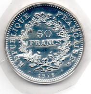 50 Francs 1978 Scellée FDC - M. 50 Franchi