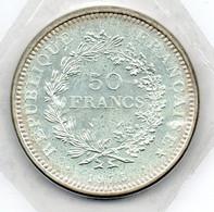 50 Francs 1975 Scellée FDC - M. 50 Franchi