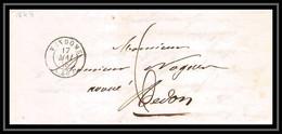 2096 Loir-et-Cher Marque Postale Vendôme Pour Redon Lle-et-Vilaine Bretagne 17/5/1848 LAC Lettre Cover France - 1801-1848: Précurseurs XIX