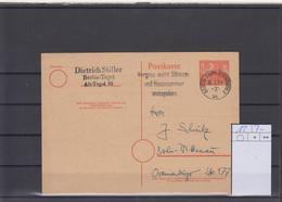 Berlin GA Michel Kat.Nr, Gest P12 - Postcards - Used