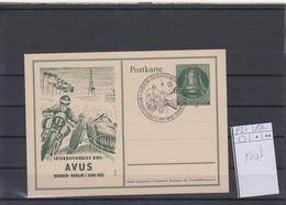 Berlin GA Michel Kat.Nr, Gest P30 Blanco ESSt - Postcards - Used