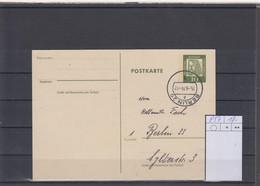 Berlin GA Michel Kat.Nr. Gest P57 - Postcards - Used