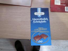 Chocolate Wrapper Babette Alpenvollmilch Schokolade - Chocolat