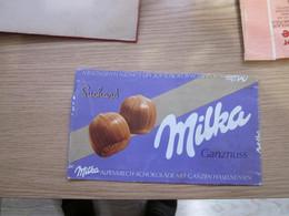 Chocolate Wrapper Milka Ganznuss - Chocolat