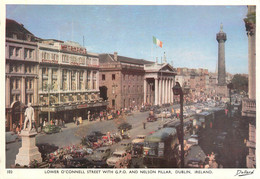 CPSM Lower O'Connell Street With GPO And Nelson Pillar-Dublin   L623 - Dublin