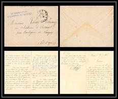 53151 LAC Nievre Nevers 1918 Hopital 41 Vaguemestres Sante Guerre 1914/1918 War Lettre Cover - Guerra Del 1914-18